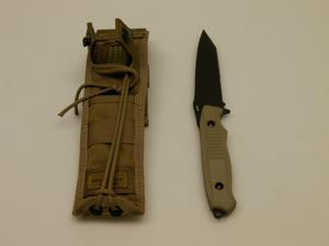 Benchmade Nimravus Tanto FB Knife Combo Edge Black/Coyote