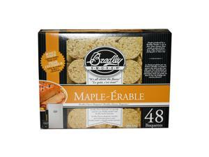 Bradley Smokers 48 Pack Maple Bisquettes BTMP48