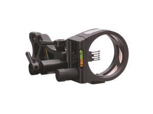 Truglo TSX Pro Tooless Sight 5-Pin .019 Black TG7215B Scope Optics Bowhunting
