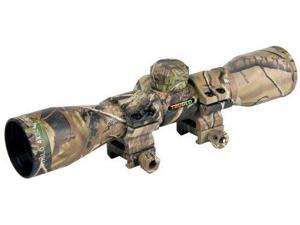 TruGlo 4x32 Rangefinding/Trajectory Compensating Crossbow Scope w/ Rings, Camo T