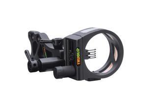 TRUGLO TSX Pro Tooless Sight 5-Pin .019 Black TG7215B