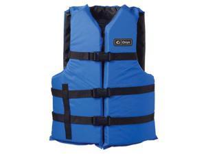 Onyx Adult Boating Vest Blue Universal 3570-0132