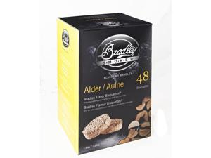 Bradley Smokers 48 Pack Alder Bisquettes