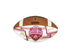 2014 College Football Playoffs Championship Autograph Ball WTF1185IDCHAMP
