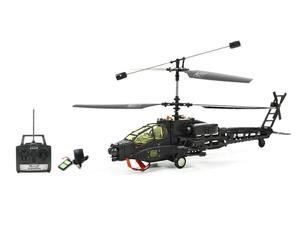3 Channel Apache RC Helicopter Is Great For Beginners