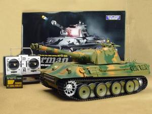 German Panther RC Tank 1/16 Scale Airsoft W/Sounds and Smoke
