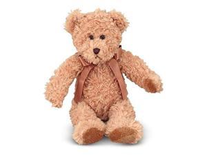 Oliver Teddy Bear Stuffed Animal - Melissa and Doug