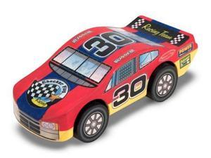 Decorate-Your-Own Wooden Race Car - Melissa and Doug