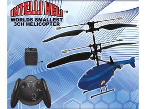 Intelli Heli 3 Channel Mini RC Helicopter Also Known As IntelliHeli World's Smallest Helicopter *HOT*