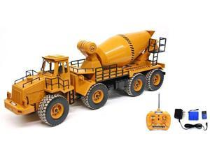 Remote Control (RC) Cement Mixer Contruction Truck (Mixer Really Turns!)