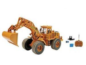Remote Control (RC) Backhoe Construction Truck W/Working Digging Arm