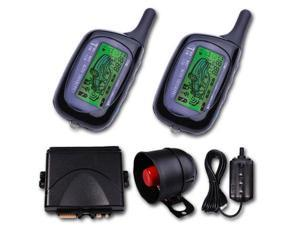 2 Way LCD Sensor Remote Alarms System Car Alarm