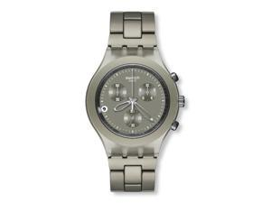 Swatch Full-Blooded Smokey Sand Mens Watch   SVCG4000AG