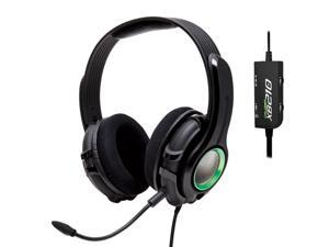 SYBA GamesterGear Cruiser XB210 Over-Ear Stereo Headset compatible with Microsoft Xbox 360/ Xbox 360 Slim, Retail Pack OG-AUD63078