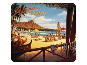 Allsop 29575 Mouse Pad, Vintage Hawaii