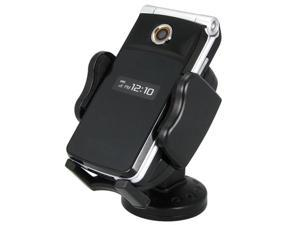 INSTEN Black Vent Mount Phone Holder compatible with Apple® iPod®