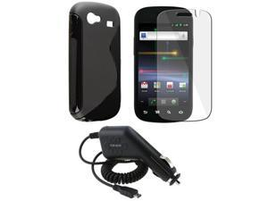 TPU Case+Guard+Car Charger compatible with Samsung© Google Nexus S