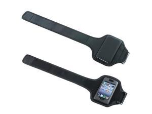 Deluxe Adjustable Black Armband Sports Case Cover Compatible With Apple® iPhone® 4 / 4S / 3G / 3GS