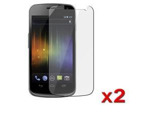 Transparent Clear LCD Screen Protector Film compatible with Samsung© Galaxy Nexus i9250 (Twin Pack)