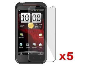 5 x Reusable Screen Protector Shields compatible with HTC Vigor/ Rezound