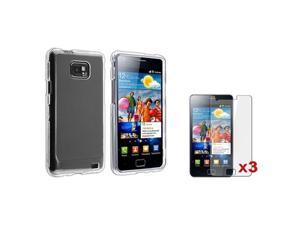 Insten Clear Solid Cell Phone - Case & Covers