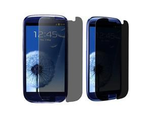 3 packs Privacy Screen Covers compatible with Samsung© Galaxy S III i9300