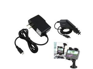 Mount Holder+AC+Car Charger compatible with Samsung© Epic 4G Touch AT&T Attain i777 Galaxy S2