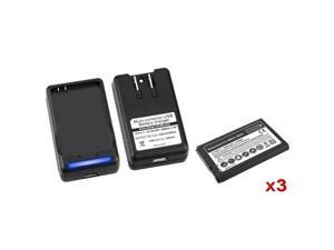Insten Black Batteries for Motorola 647364