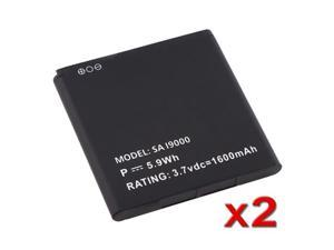 Insten White 2X Li-Ion BATTERY Compatible With Samsung Galaxy S I9000 Epic 4G D700 SGH-I897 646618