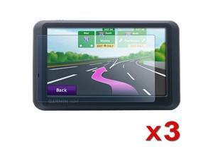 3 X LCD Protector compatible with GPS Garmin nuvi 1390T 1370T 1350