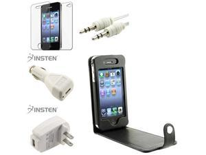 Case+Film+Cable+2 INSTEN USB Charger for iPhone® 4 4S 4G 4GS G 4TH