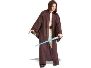 Star Wars Deluxe Adult Jedi Robe Costume (As Shown&#59;One Size)