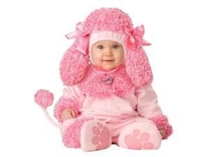 In Character Cute Infant Baby Girls Pink Poodle Puppy Dog Costume L