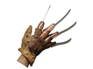 Deluxe Freddy Krueger Metal Glove Halloween Prop