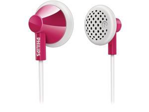 Philips She2100Pk/28 In-Ear Headphones , Pink/White