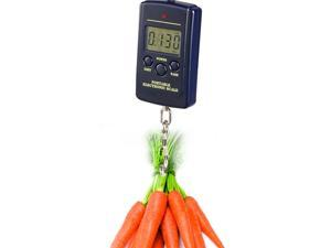 eForCity 10g-40kg LCD Digital Hanging Luggage Fishing Weight Scale