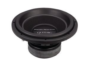 "Power Acoustik Gw3-12 12"", 2,500W, 2Ohm  Gothic Series Dual Subwoofer"