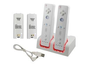 2800 Dual Charging Dock Charge Station for Wii Remote