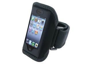 eForCity Black Sport Armband Cover Case Compatible With Apple® iPhone 3GS 3rd Generation Smartphone