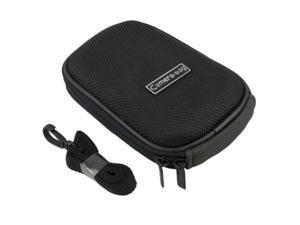 Black Heavy Duty Nylon Digital Camera Case for Canon PowerShot SD3500 IS / Digital IXUS 210 IS / Digital IXY 10S