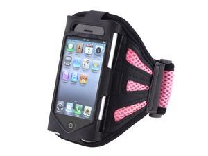 INSTEN Black/Pink Armband compatible with NEW Apple® iPhone® 4S