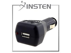 Insten Universal USB Car Charger Adapter, Black