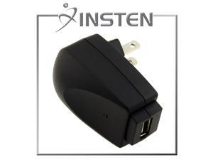 Insten Universal USB Travel Charger Adapter, Black