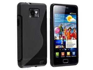 Samsung© T-Mobile Galaxy S2 (i9100) TPU Rubber Case - Black