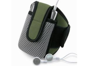 INSTEN Olive SportBand with Case compatible with NEW Apple® iPhone® 4S
