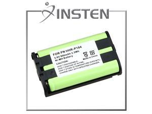 INSTEN Panasonic HHR-P104 Cordless Phone Compatible Ni-MH Battery