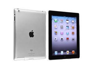 eForCity Snap-on Crystal Case compatible with Apple iPad 3 / iPad with Retina display / iPad 4, Clear