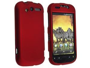 eForCity Snap-in Rubber Coated Case compatible with  HTC / T-mobile myTouch 4G, Wine Red