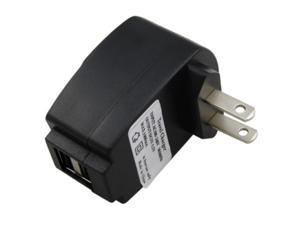 eForCity Black 2-Port USB Wall Charger Compatible With Sony Ericsson Xperia X10