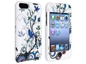 eForCity Rubber Coated Case Compatible With iPod touch 2 / 3 Gen, Spring Flower